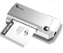 Light Weighted A8 Sized Gray Scale Business Card Scanner Based On PENPOWERs Award Winning Kernel Technology Of Optical Character Recognition